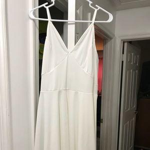 White 2x sundress